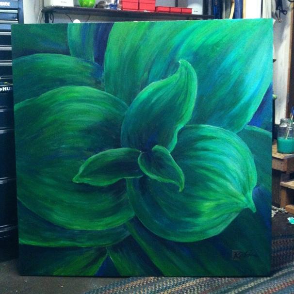 Sierra Foliage 48x48