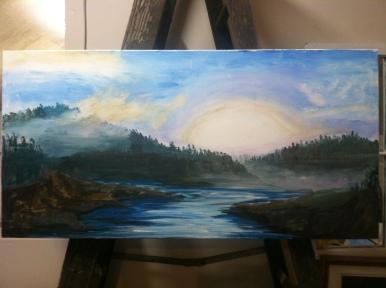 Sierra Sunrise 16x40