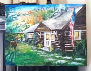 Monroe Cabin 24x30